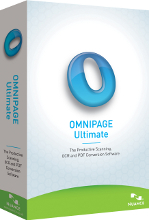 OmniPage Ultimate box