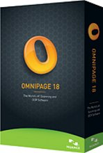 OmniPage Professional 18 box