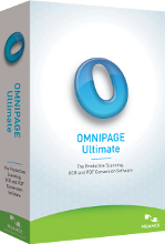 OmniPage Ultimate boks